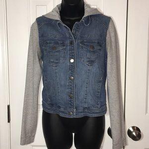 Woman's Denim Hybrid Jacket